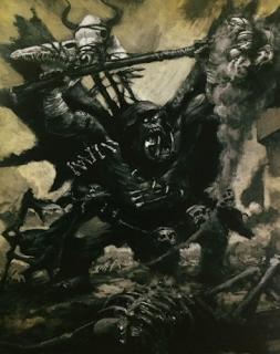 Chamane Orque Par Auteur Inconnu In Warhammer Battle 7e