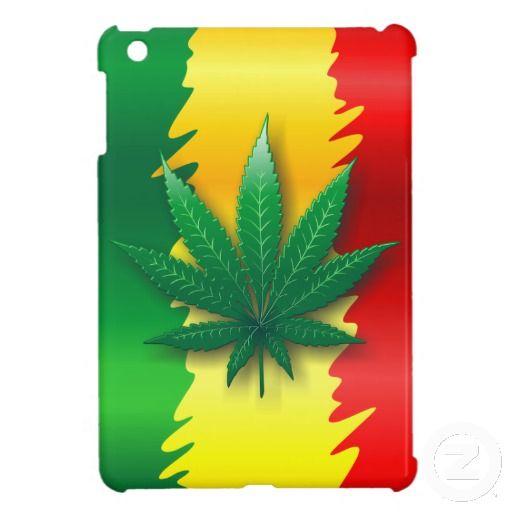 ❀NEW on #Zazzle!❀   #Cannabis #Leaf on #Rasta #iPad #Flag #Mini #Case  http://www.zazzle.com/cannabis_leaf_on_rasta_flag_mini_case-256045874821029175