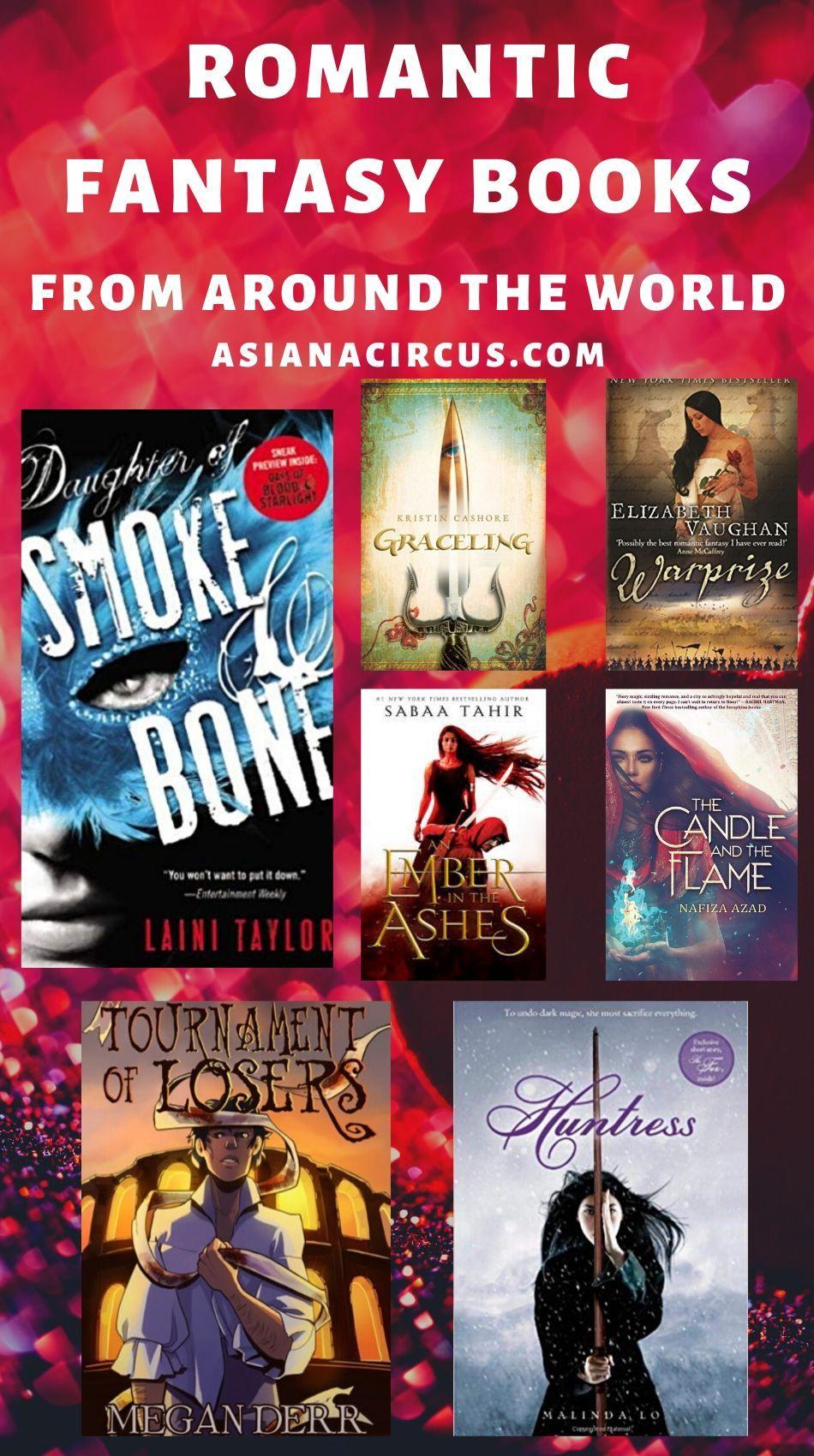 51 Best Romance Fantasy Books Novels To Read 2020 Asiana Circus In 2020 Romantic Fantasy Book Romantic Fantasy Fantasy Book Series