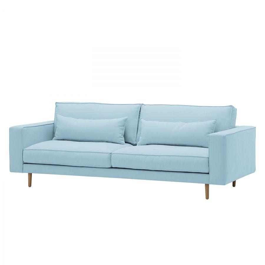 Künstlerisch Couch Hellblau Referenz Von Sofa Lacona (3-sitzer) - Webstoff - Stoff