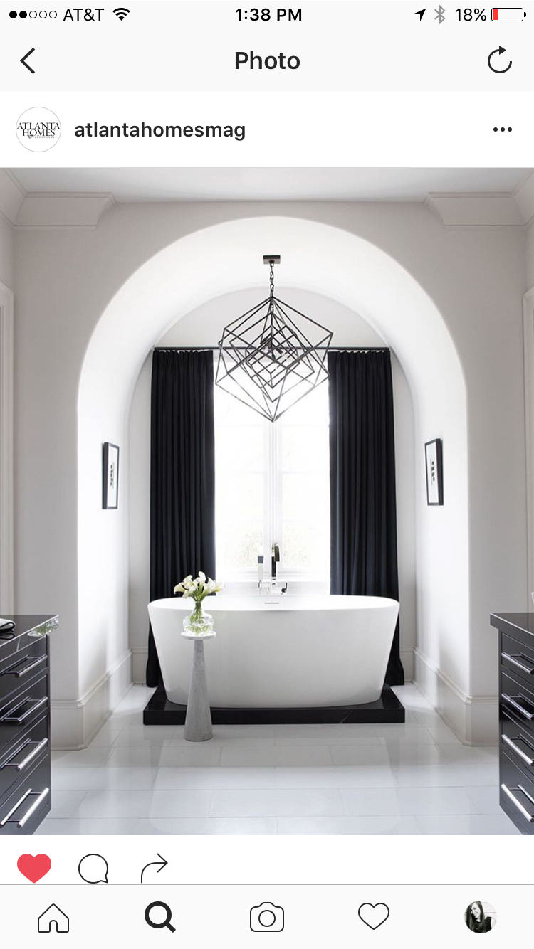 Bathroom Chandeliers Black circa lighting cubist medium chandelier over bathroom tub