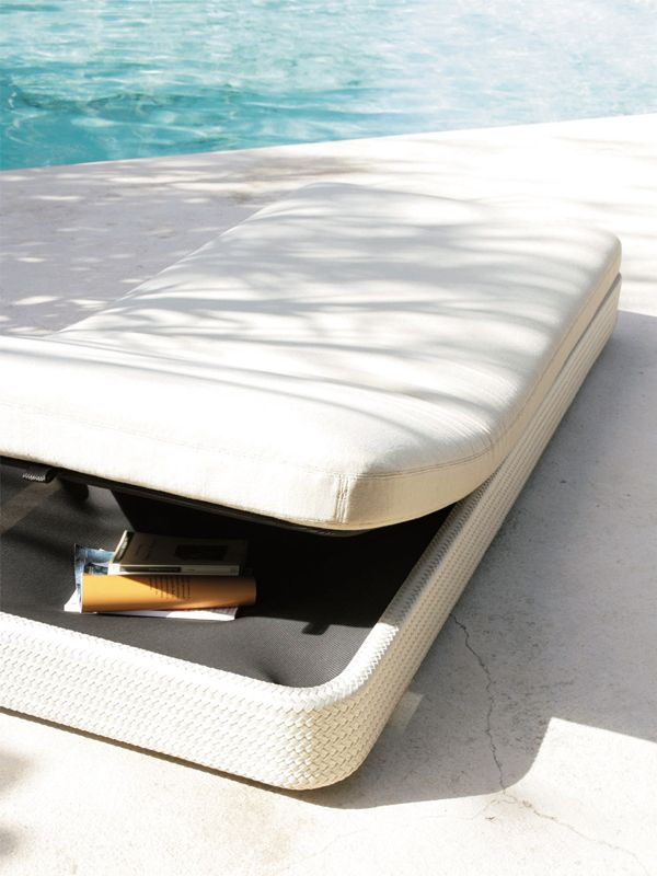 Recliner Garden Bed Cove Collection By Paola Lenti | Design Francesco Rota