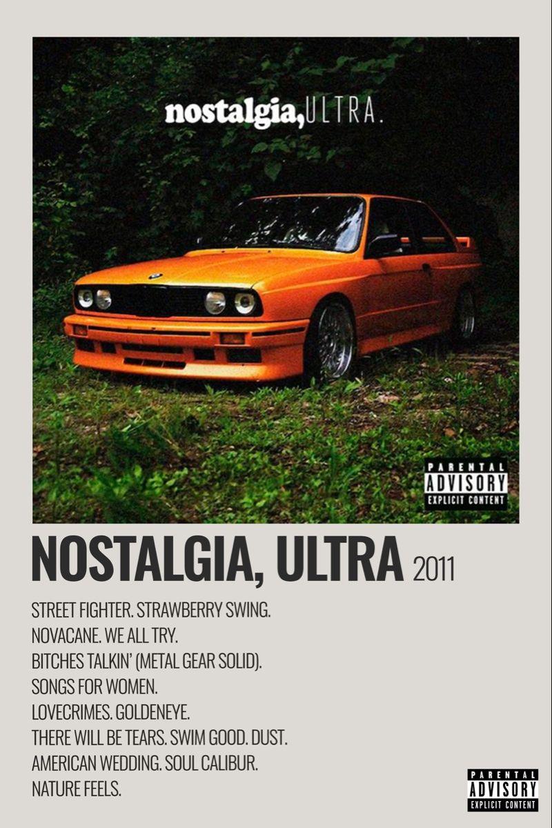 Nostalgia. Ultra (Frank Ocean) Poster  Frank ocean poster, Frank