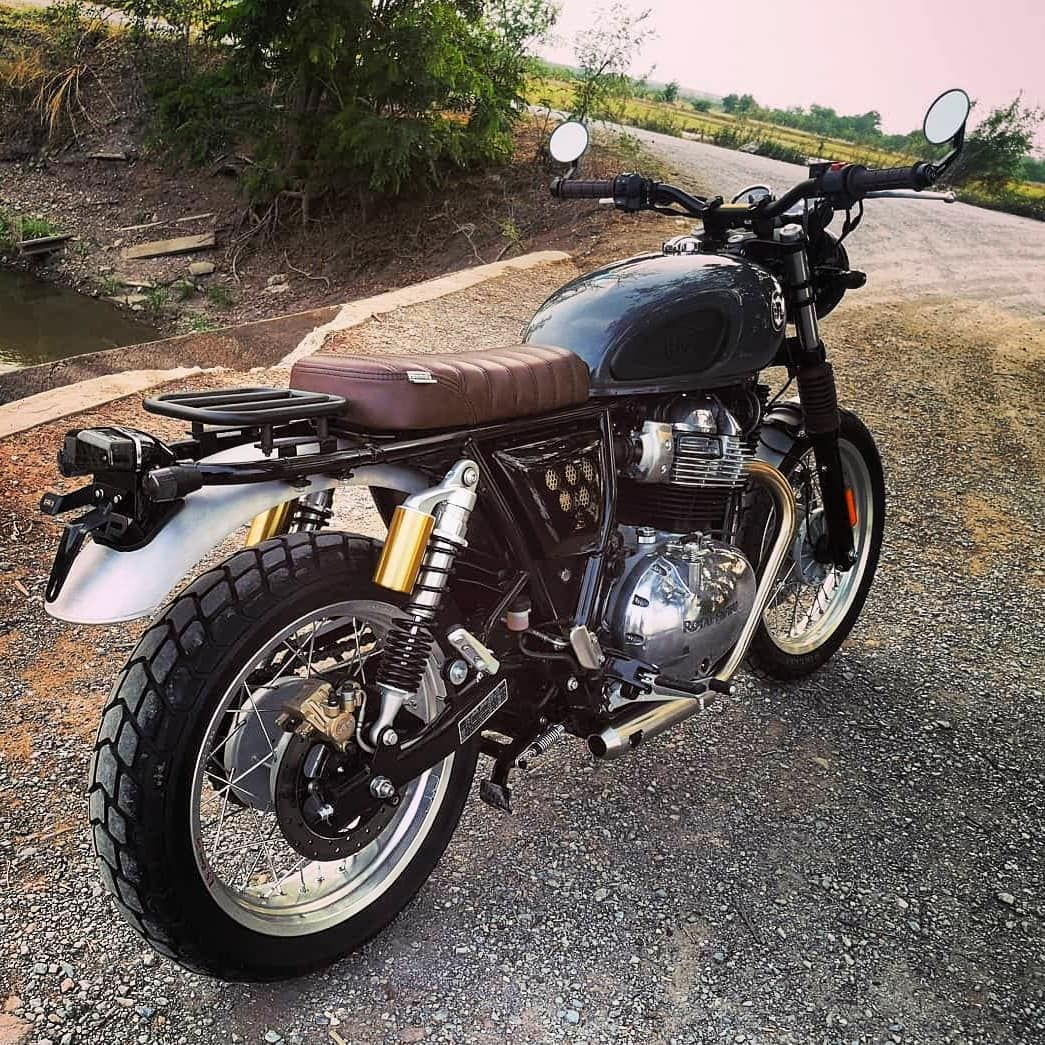 """Royal Enfield modified di Instagram """"Repost from"""