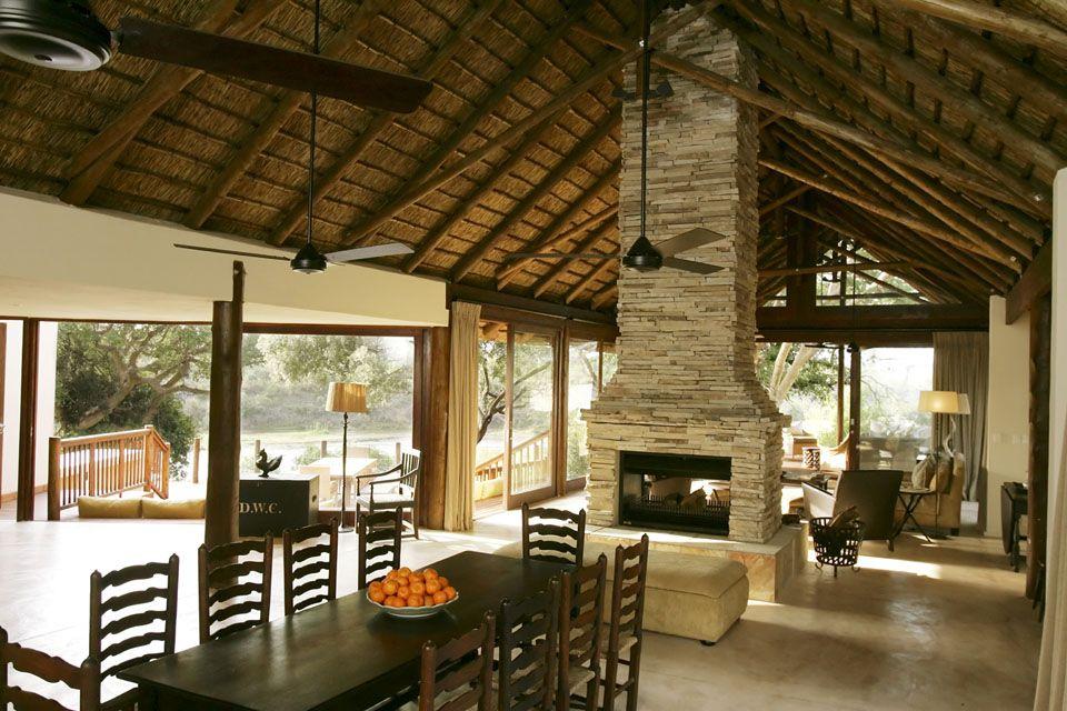Dining room, Lion Sands Game Reserve, South Africa