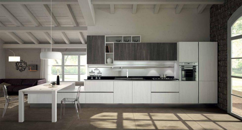 Stunning Cucine Bicolore Moderne Gallery - Ideas & Design 2017 ...