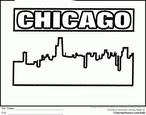 Chicago Coloring Pages