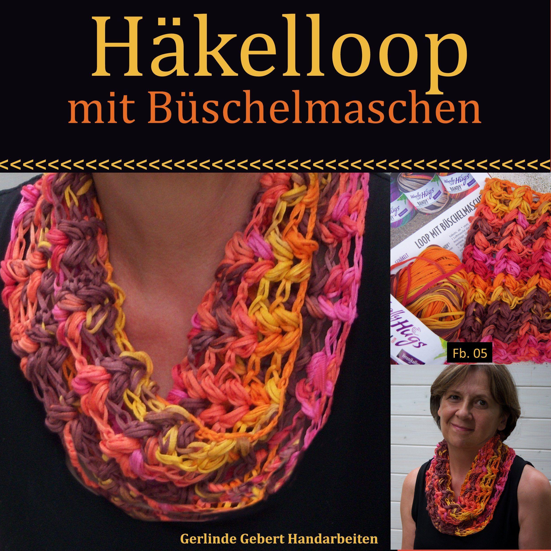 Loopschal Mit Büschelmaschen Gerlinde Gebert Shop Wwwgebert