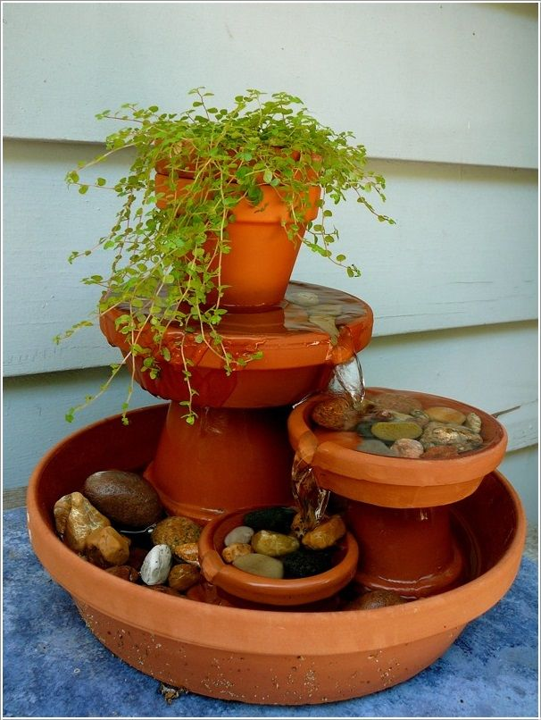 Pin By Kary Mays On Garden Garden Related Stuff Diy Water Fountain Diy Water Feature Diy Water