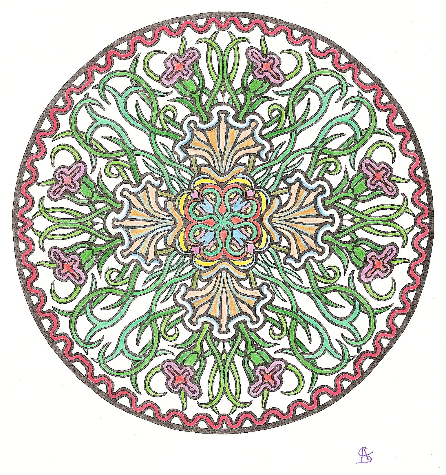 Mystical Mandala Coloring Book Dover Design Coloring Books By