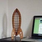 Cardboard Astro Rocket ($14)