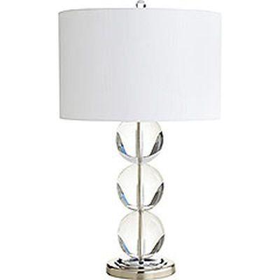 Serena crystal table lamp