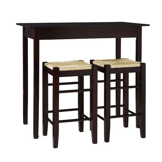 Linon Home Decor Product Inc Linon Shelby Three Piece Counter