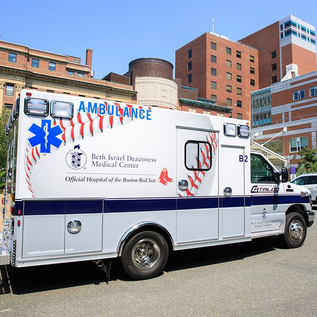 Bidmc Introduces Two New State Of The Art Ambulances Built To Improve Patient Care Patient Care Recreational Vehicles Ambulance