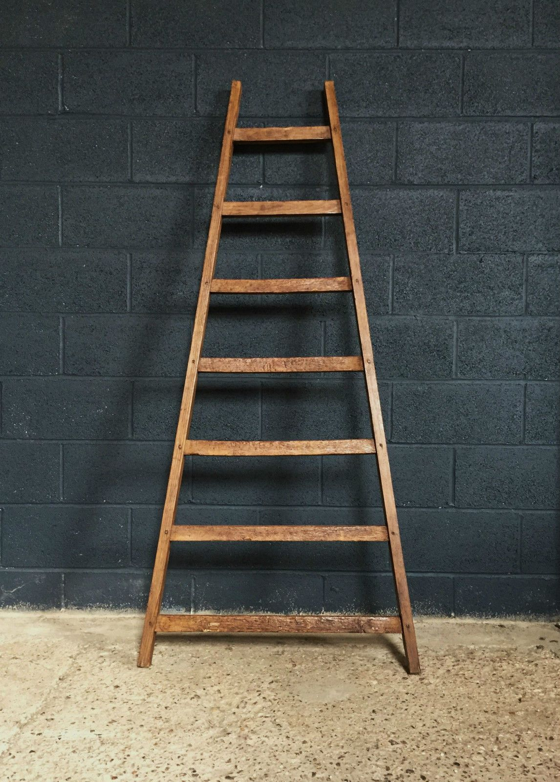 Lovely Vintage Antique French Orchard Fruit Picking Ladder French Antiques Vintage Antiques Antiques