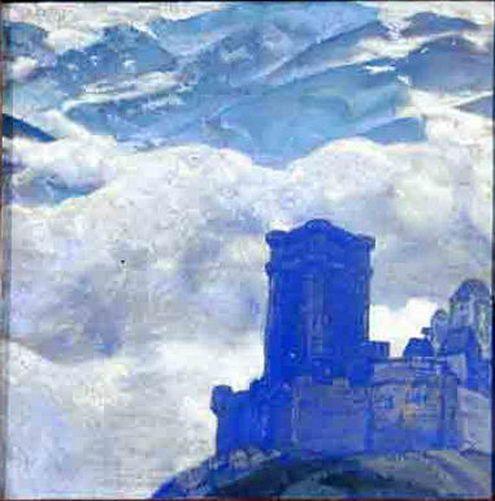 Roerich Paintings | Castle
