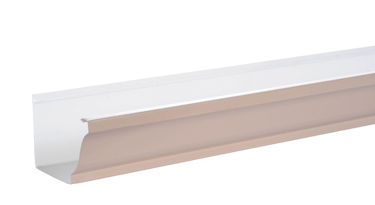 Gouttiere Aluminium Beige Rose Www Brico Toiture Com Type De Maison Toiture Architecture Moderne