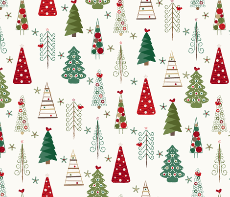 Colorful Fabrics Digitally Printed By Spoonflower Scandinavian Christmas Trees Classic In 2020 Scandinavian Christmas Trees Scandinavian Christmas Christmas Decor Diy