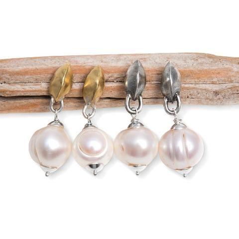 Joanna Morgan Designs Justine earrings with pearls
