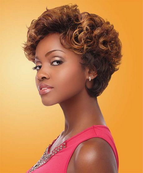Awesome Black Short Curly Weave Hairstyles