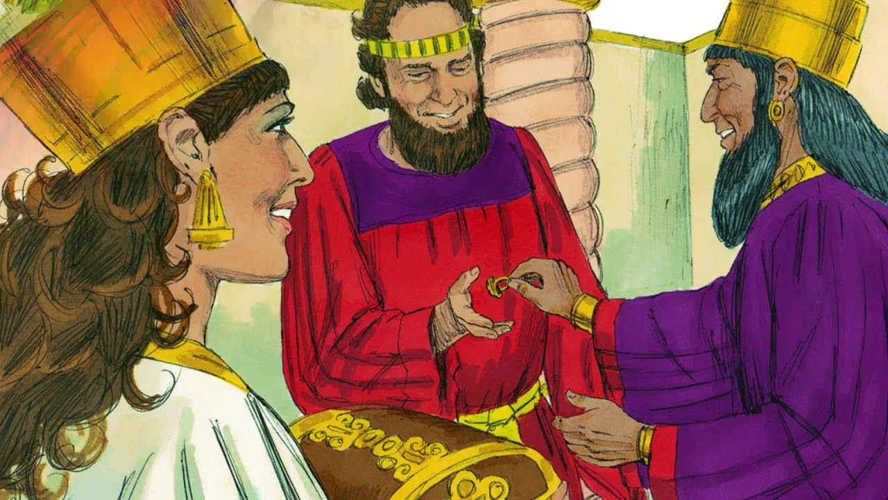 The Story of Esther: Part 3-CH 7-9-Animated Bible Stories ...