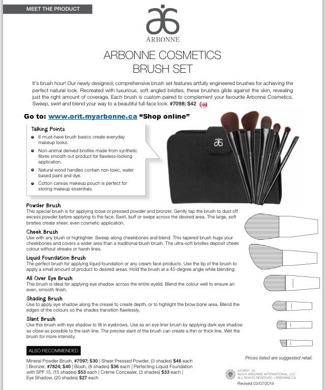how to use cosmetic brushes