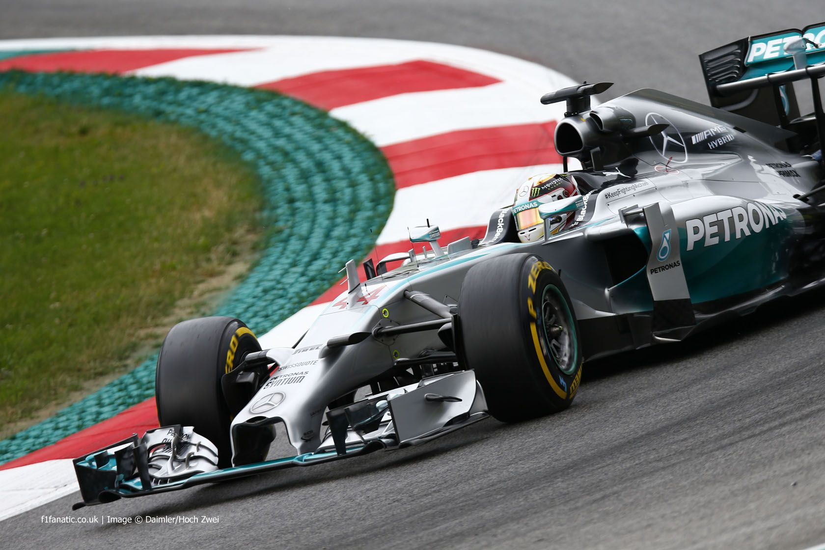 Lewis Hamilton, Mercedes, Red Bull Ring, Friday practice, 2014
