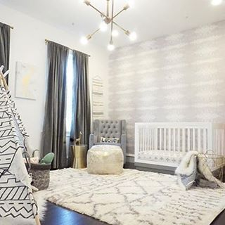 Swooning Over This Sweet Modern Nursery Space For A Baby Image By