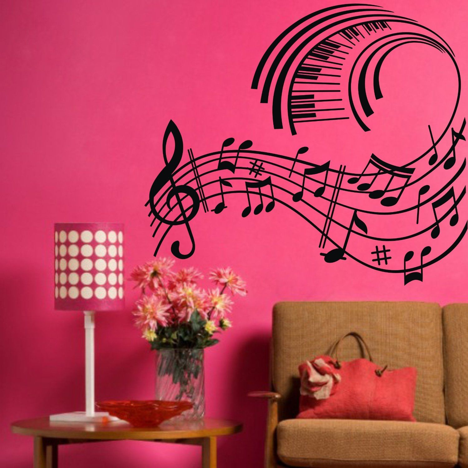 Amazon coavas elegant wall sticker gracrful wall sticker big