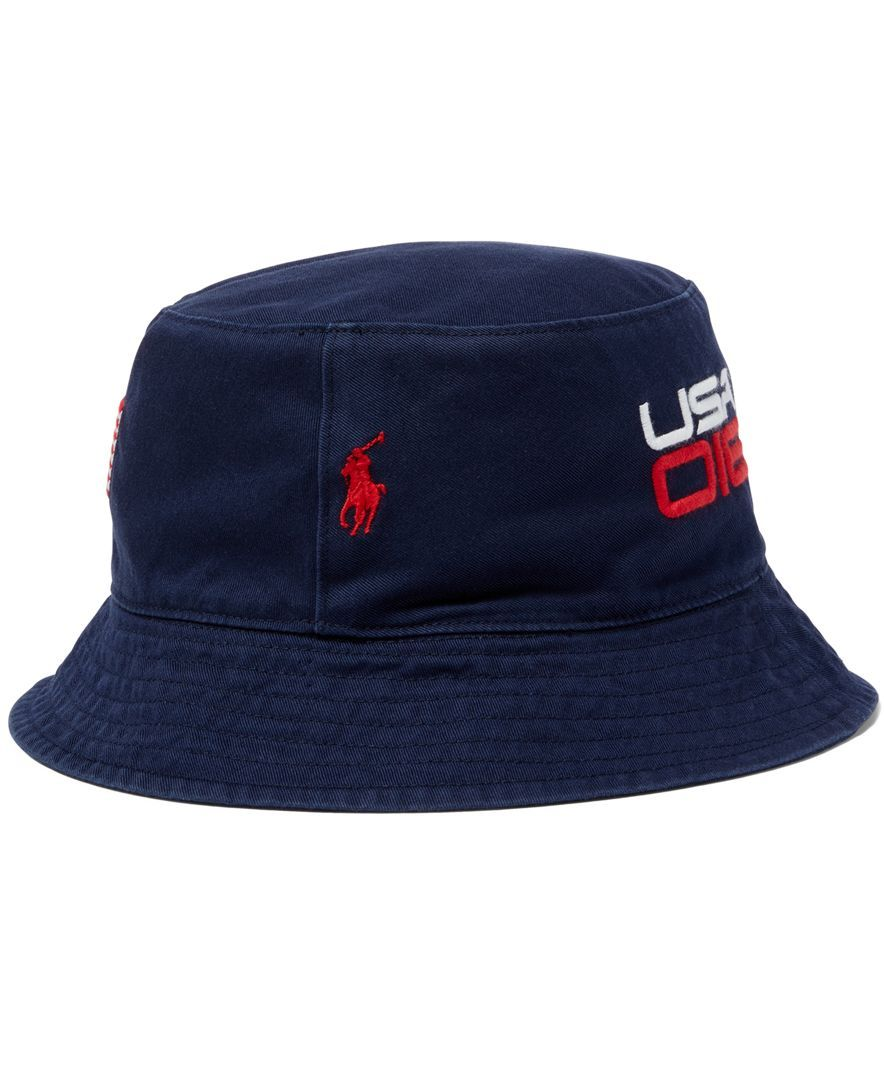 ebb277ddb83 Polo Ralph Lauren Men s Team Usa Reversible Bucket Hat ...