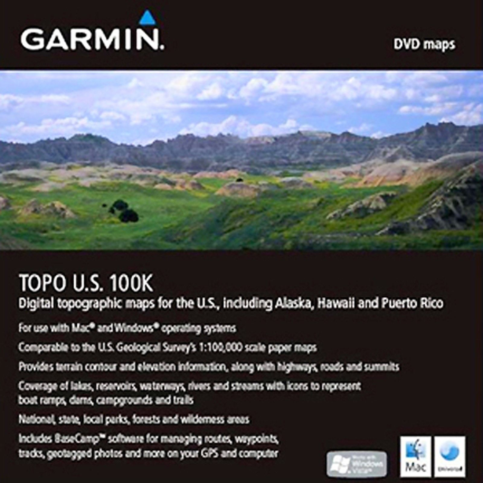 GPS Software And Maps Garmin Us Topo Maps Works W Windows - Where to buy us topo maps