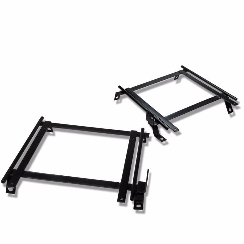 2 X Mild Steel Seat Base Mounting Bracket For Honda 92-01