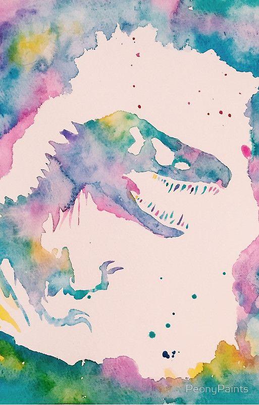 Jurassic Iphone 12 Soft By Peonypaints Jurassic World Wallpaper Dinosaur Wallpaper Dinosaur Art