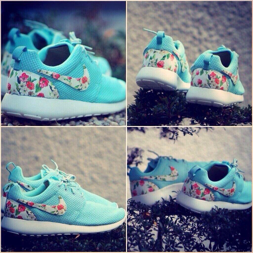 best sneakers 39162 e4c1b Light blue Roshe runs