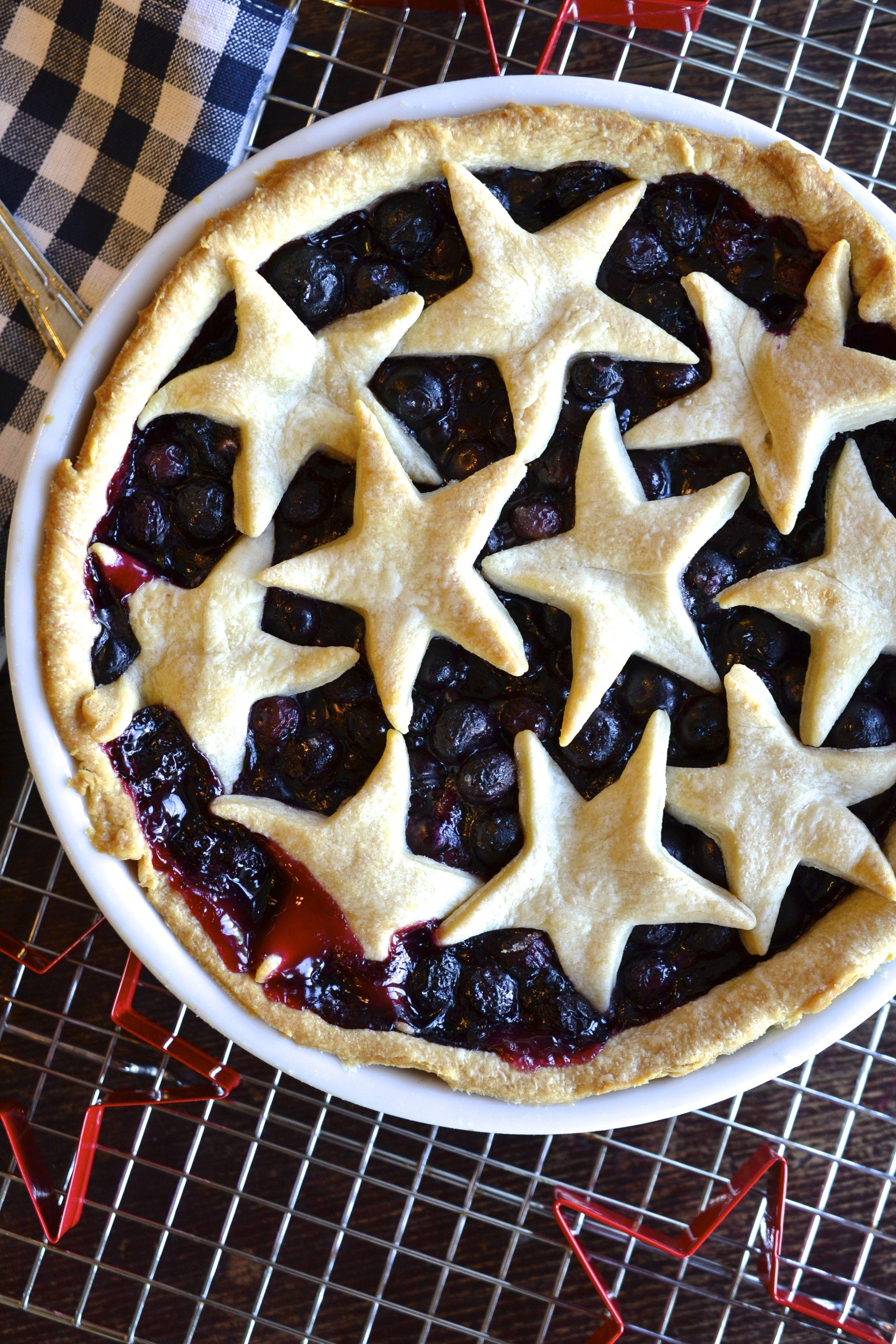 Blueberry Pie  ciaochowbambina.com