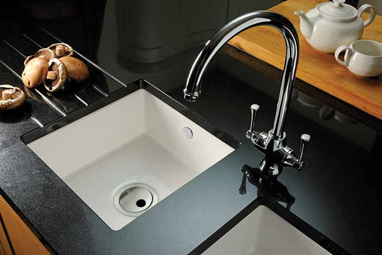 Abode Matrix CR25 1.0 Bowl Ceramic Kitchen Sink   Abode Designer ...