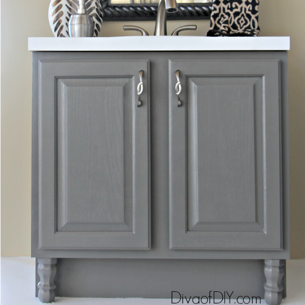 Cheap Bathroom Makeover: How To Prep Your Outdated Vanity