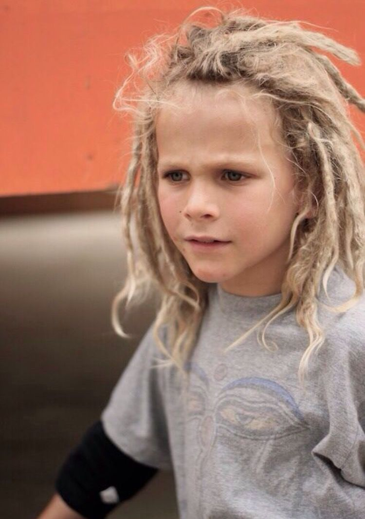 white kids with dreads