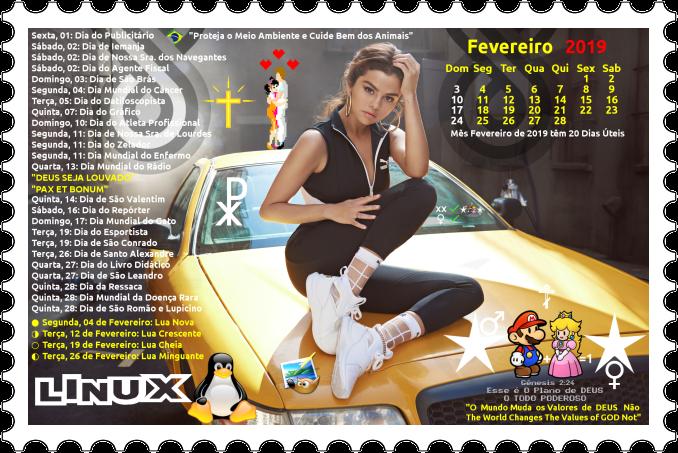 Selen Calendario.Selena Gomez Selo Horiz Calendario 2019 Fevereiro Photo