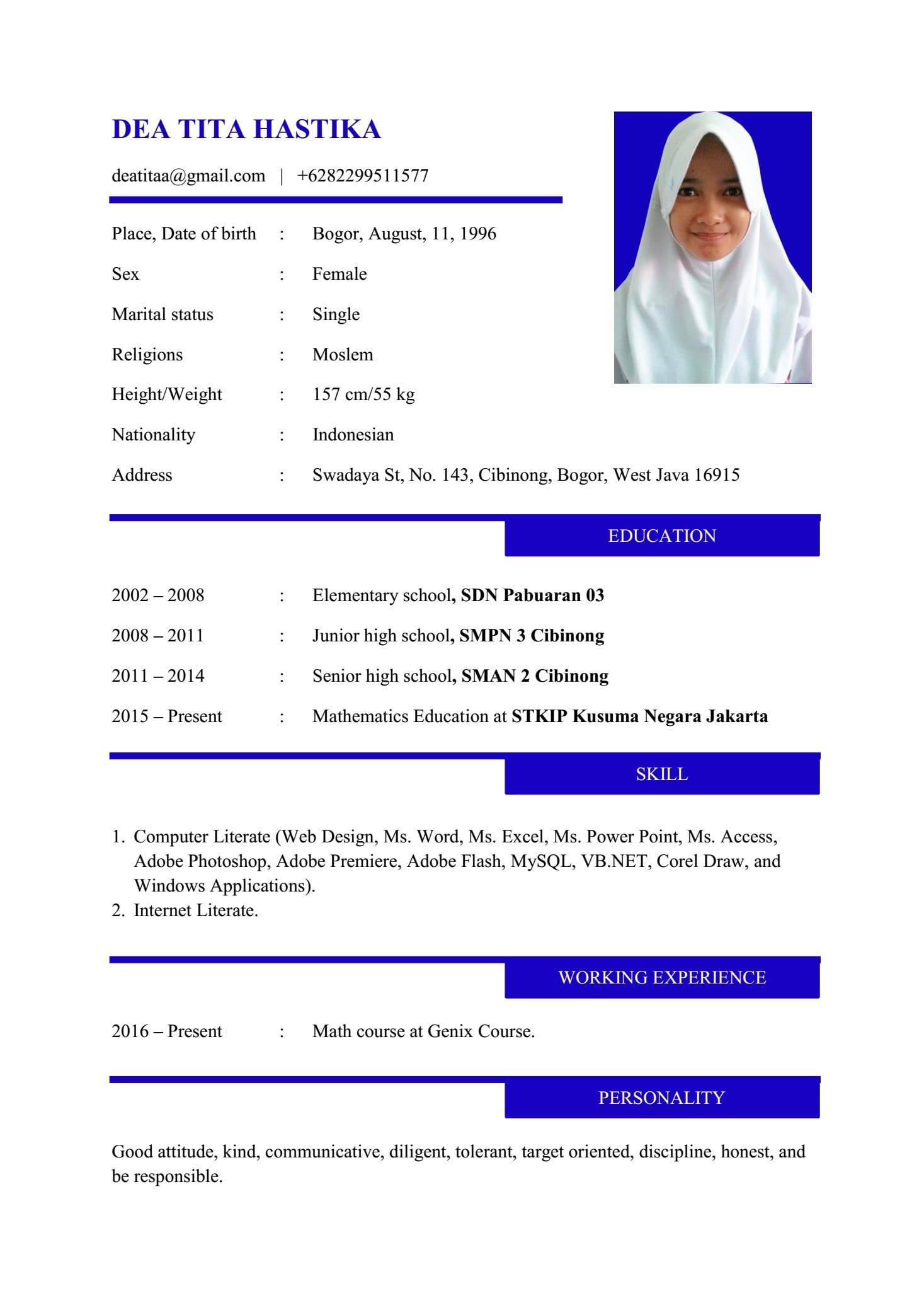 Cover Letter Bahasa Inggris Atau Indonesia