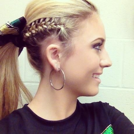 Updo Hair Ideas ~Cheerleader. | Hairstyles | Pinterest ...