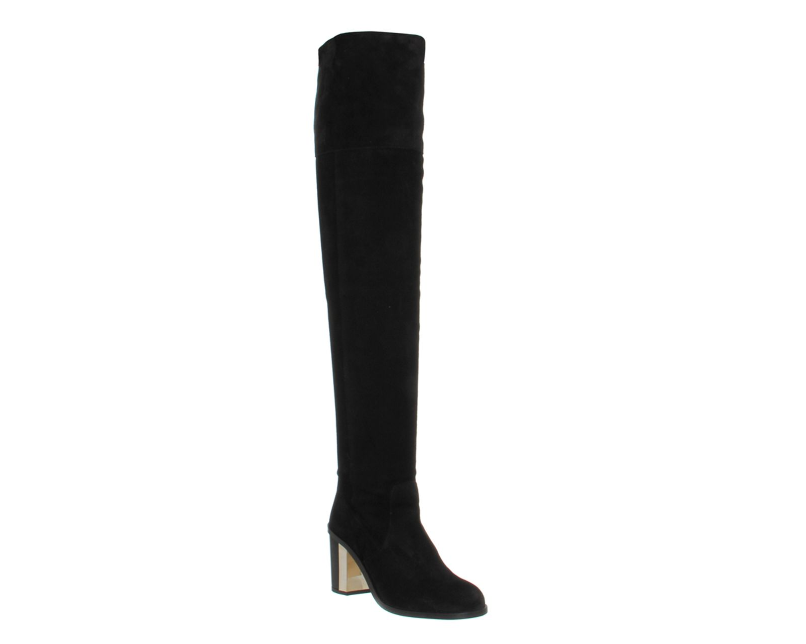 Office Nomad Over Knee Boot Black Suede Boots 125