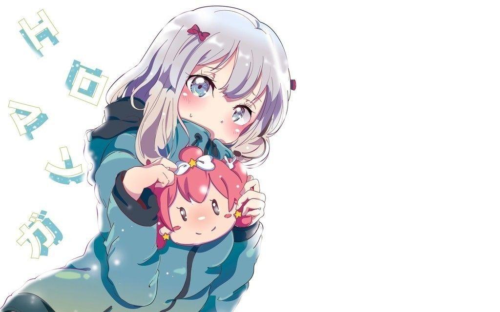 Play With Toys Izumi Sagiri Eromanga Sensei Anime Girl Wallpaper