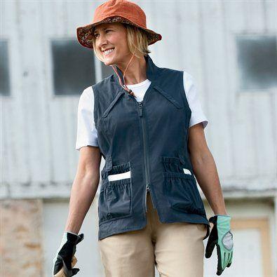 9c0dced459711b0f0165b4480af37dad - Women's Lightweight Utility Gardening Vest