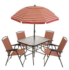 the scottsdale patio dining set by rio brands includes four