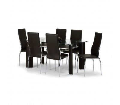 Vega dining table and chairs