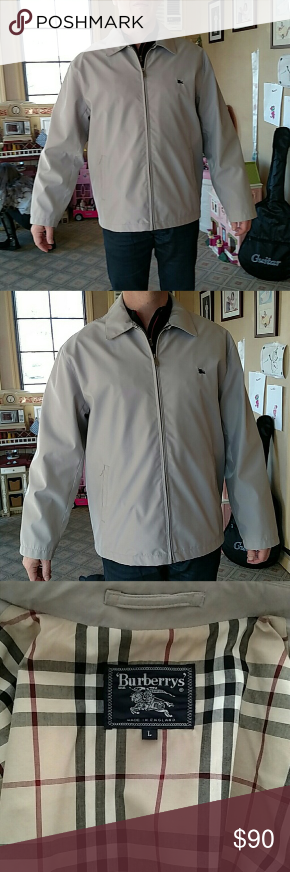 Burberrys' Mens Lightweight Jacket Great condition, sweet jacket Burberry Jackets & Coats Lightweight & Shirt Jackets