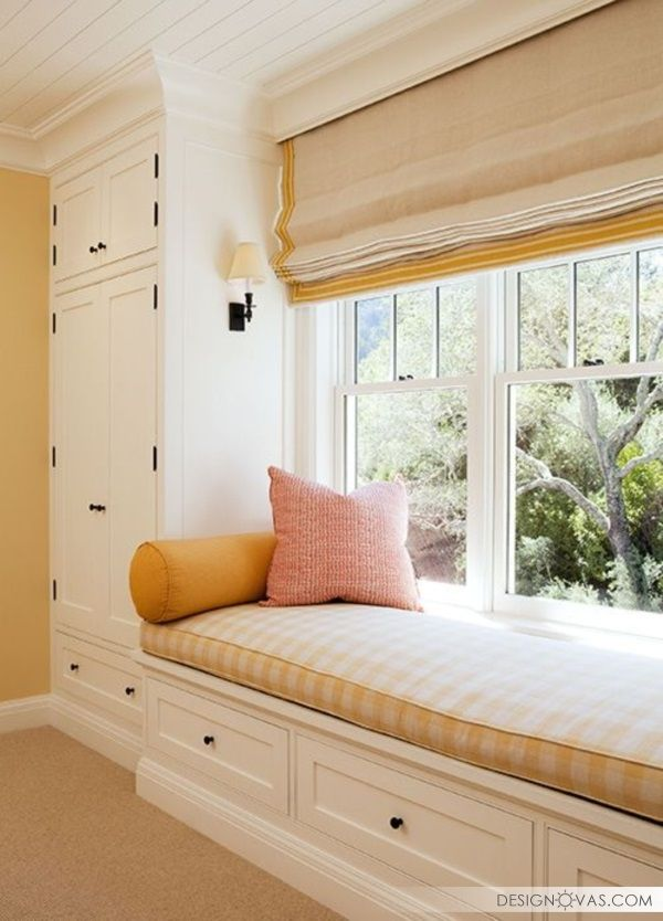 53 Window Seat Design Ideas Dom Mesta U Okna Interer