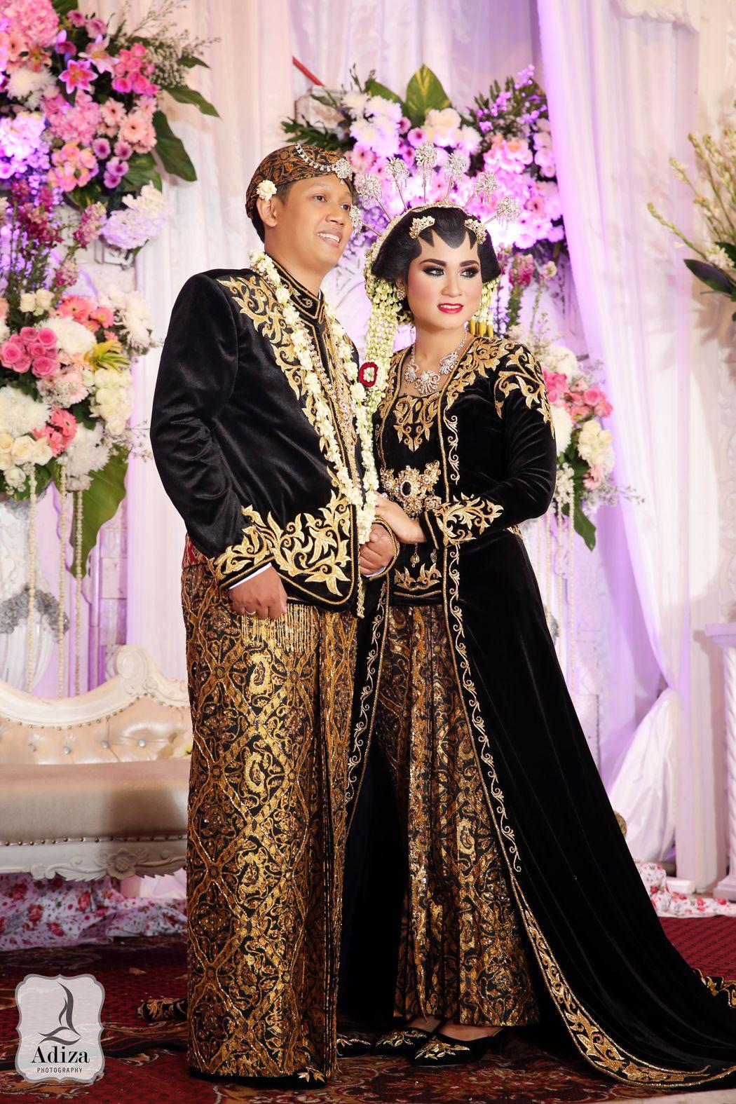 Traditional Solo Putri  Gambar pengantin, Kebaya pernikahan, Gaun