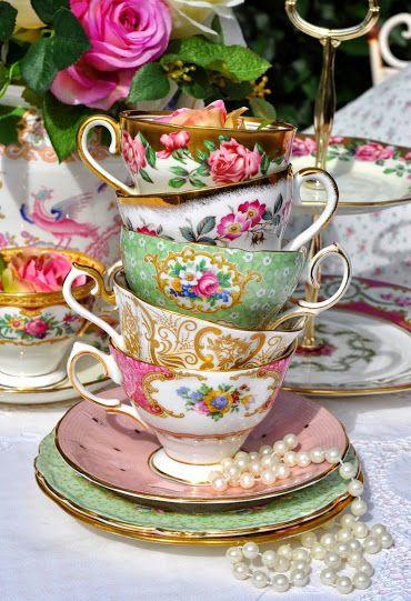 teacups stack #teacups